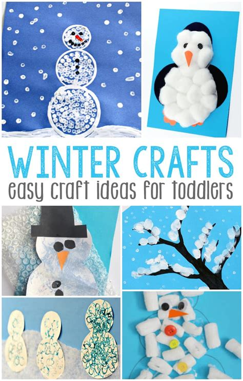 winter crafts for to make simple winter crafts for toddlers easy peasy and