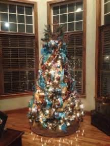brown decorated tree best 25 turquoise ideas on