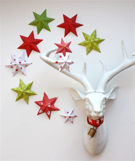 paper craft ornaments remodelaholic 35 paper decorations to make
