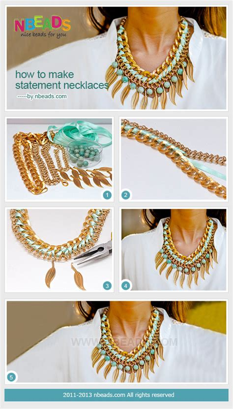 How To Make Statement Necklaces Pictures Photos And