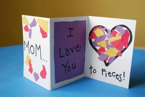 simple mothers day cards to make 28 simple s day crafts and gift ideas teach junkie