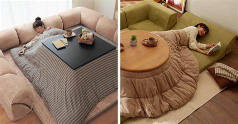 japanese kotatsu never leave your bed again with this awesome japanese