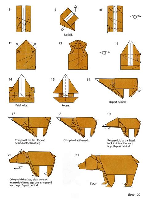 origami diagram becoming an artist origami