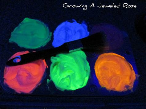 glow in the paint glowing bath paint growing a jeweled