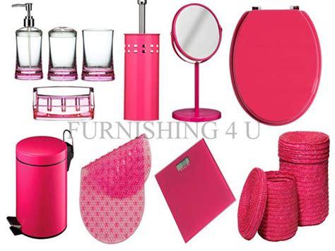 fuschia pink bathroom accessories fuchsia bathroom accessories bathroom faucet and