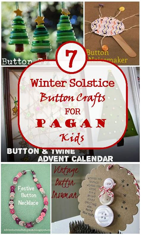winter solstice crafts for button crafts winter solstice and buttons on