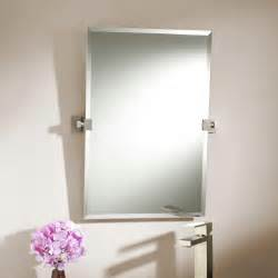 rectangle bathroom mirrors 24 quot helsinki rectangular tilting mirror bathroom
