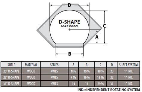 lazy susan base cabinet sizes rev a shelf wood classic quot d shaped 2 shelf and 3 shelf