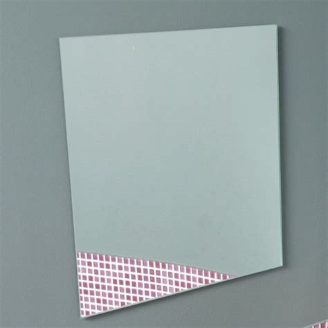 adhesive bathroom mirror bathroom mirror adhesive 27x42cm bathroom self adhesive