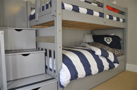 grey bunk beds one room challenge the gray bunk beds are in house updated