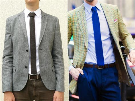 How To Wear A Knitted Tie Hommestyler
