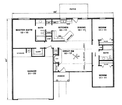 3 bedroom bungalow design bungalow house design with 3 bedrooms so replica houses
