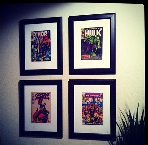 comic book picture frame ten ways to make your walls look amazing