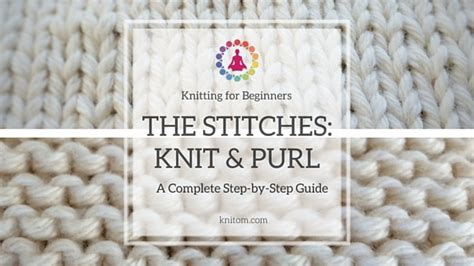 basic knitting purl stitch knitting for beginners crochet and knit
