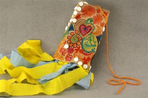 paper bag kite craft paper bag kites s world craft ideas