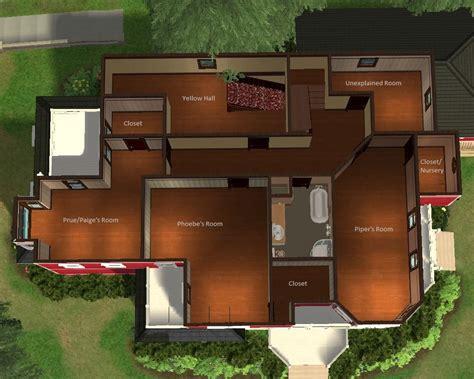 halliwell manor floor plan mod the sims halliwell manor
