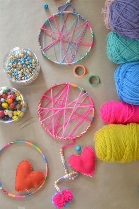 diy kid crafts diy crafts simple pretty yarn craft ideas for