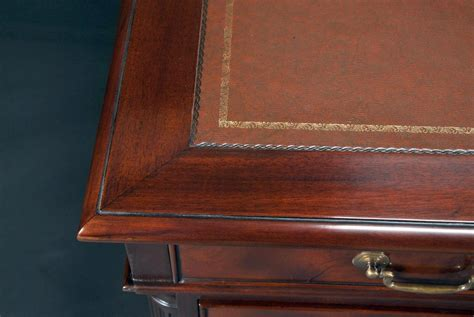 office desk leather top executive desk with leather top mahogany leather top desk