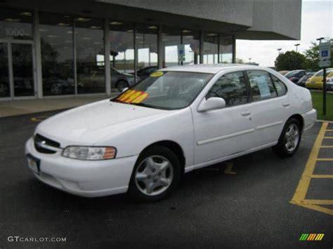2000 Nissan Altima by 2000 Cloud White Nissan Altima Gxe 9396855 Gtcarlot