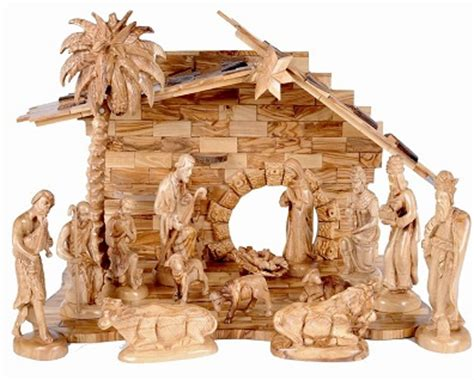 indoor nativity set with stable large indoor church nativity set holy land treasures