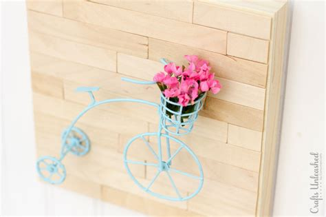 mini craft projects diy wall mini vintage bicycle crafts unleashed