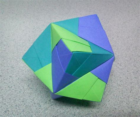 Origami Stellated Octahedron Images