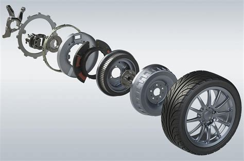In Wheel Electric Motor by Pioneering In Wheel Electric Motor Tech Set To Transform