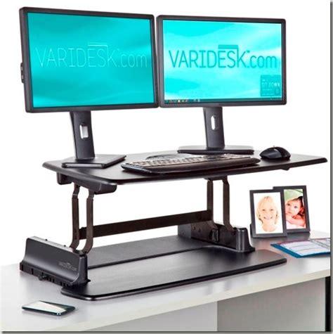 standing desk productivity varidesk pro review standing desks improve productivity