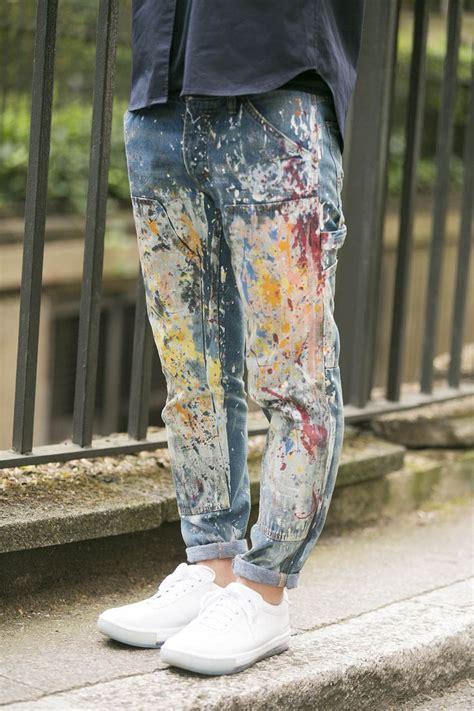 acrylic paint on denim 17 of 2017 s best denim paint ideas on painted