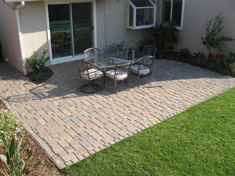 designs for patio pavers brick paver patio designs