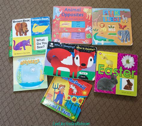 picture books for 1 year olds types of books that one to two year olds live like