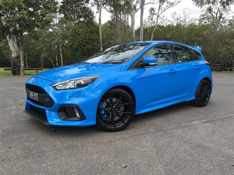 Ford Focus Review by 2017 Ford Focus Rs Review Caradvice