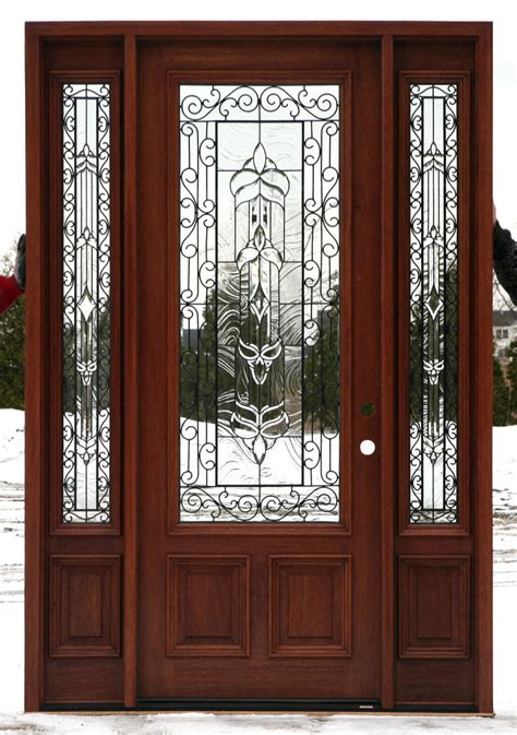 metal front doors for homes with glass exterior doors with glass front doors with wrought iron