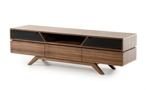 modern walnut furniture mid century modern walnut wood tv media stand modern
