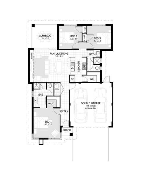 3 bedroomed house designs 3 bedroom house plans home design ideas