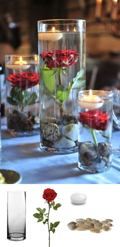 candle in water centerpiece 37 floating flowers and candles centerpieces shelterness