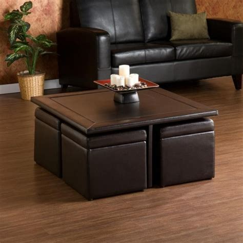 coffee table with storage ottomans blvd crestfield brown coffee table storage
