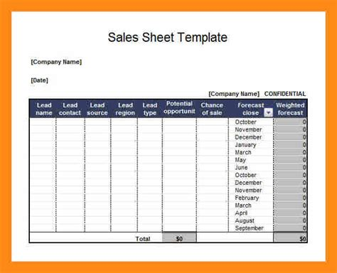 6 sell sheet template free actor resumed