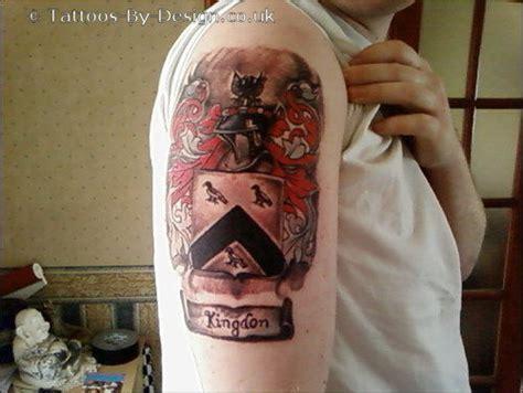 kingdon coat of arms tattoo