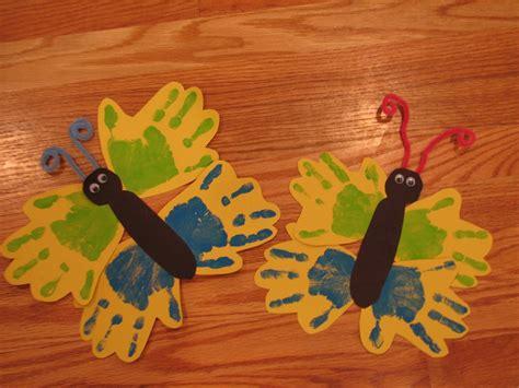 craft for preschool butterfly handprint craft preschool education for