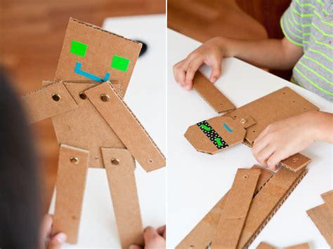 cardboard crafts for cardboard crafts robots crafts