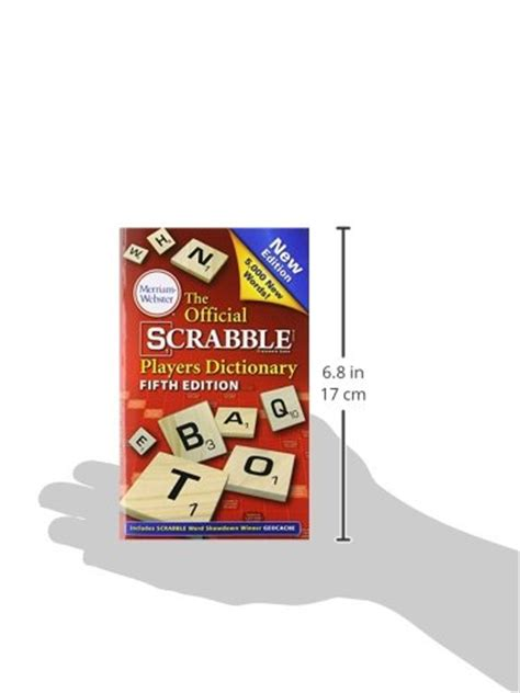 zas scrabble dictionary the official scrabble players dictionary new 5th edition