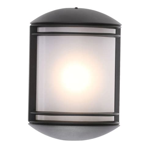home depot led outdoor lights springdale lighting rainier rubbed bronze outdoor