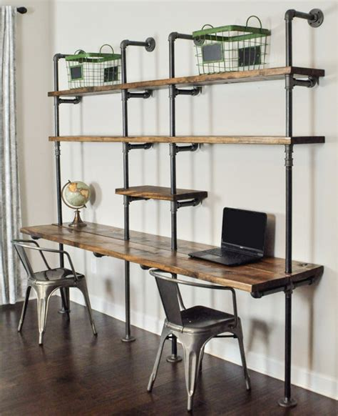 student desk with shelves industrial desk and shelf unit 8 and 10 by baxterhouse