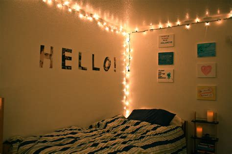 room string lights diy bedroom string lighting home owner buff