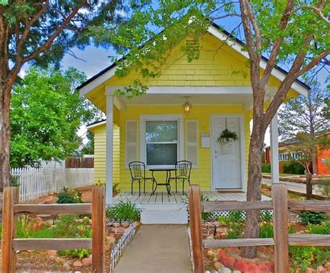 tiny house rental colorado springs tiny house talk yellow cottage vacation rental in