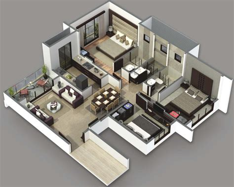 house plans and designs for 3 bedrooms 3 bedroom house plans 3d design 4 house design ideas
