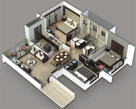3 bedroom plan 3 bedroom house plans 3d design artdreamshome