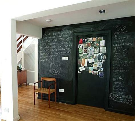 chalkboard paint on wall mad about blackboard paint