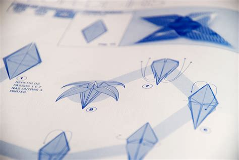 origami learning learn origami step by step book on behance